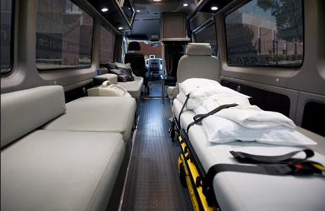 Transport Médical Equipé