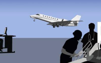 Combien coute un vol sanitaire