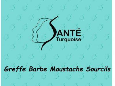 Greffe Barbe Moustache Sourcils